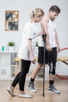Rééducation du genou après ligamentoplastie
